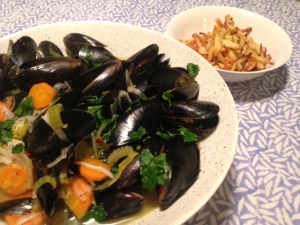 mussels from brussels!